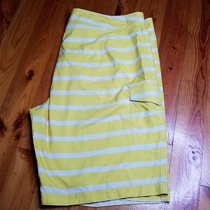 NWOT Old Navy Striped Board Shorts